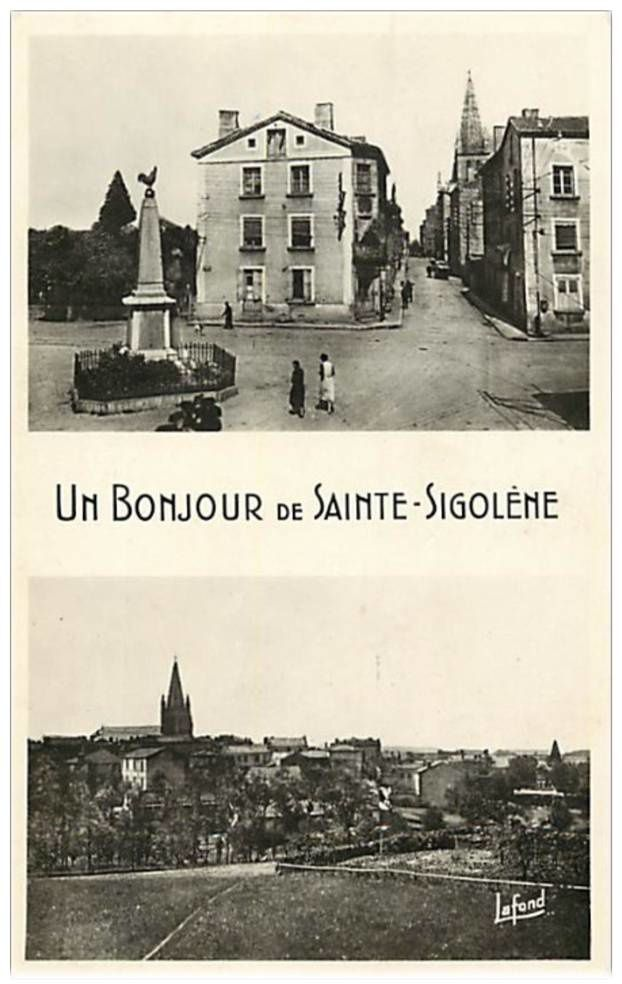 Sainte Sigolène de nos parents