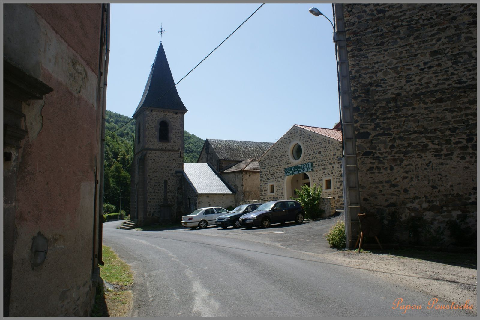 Le village de Courgoul