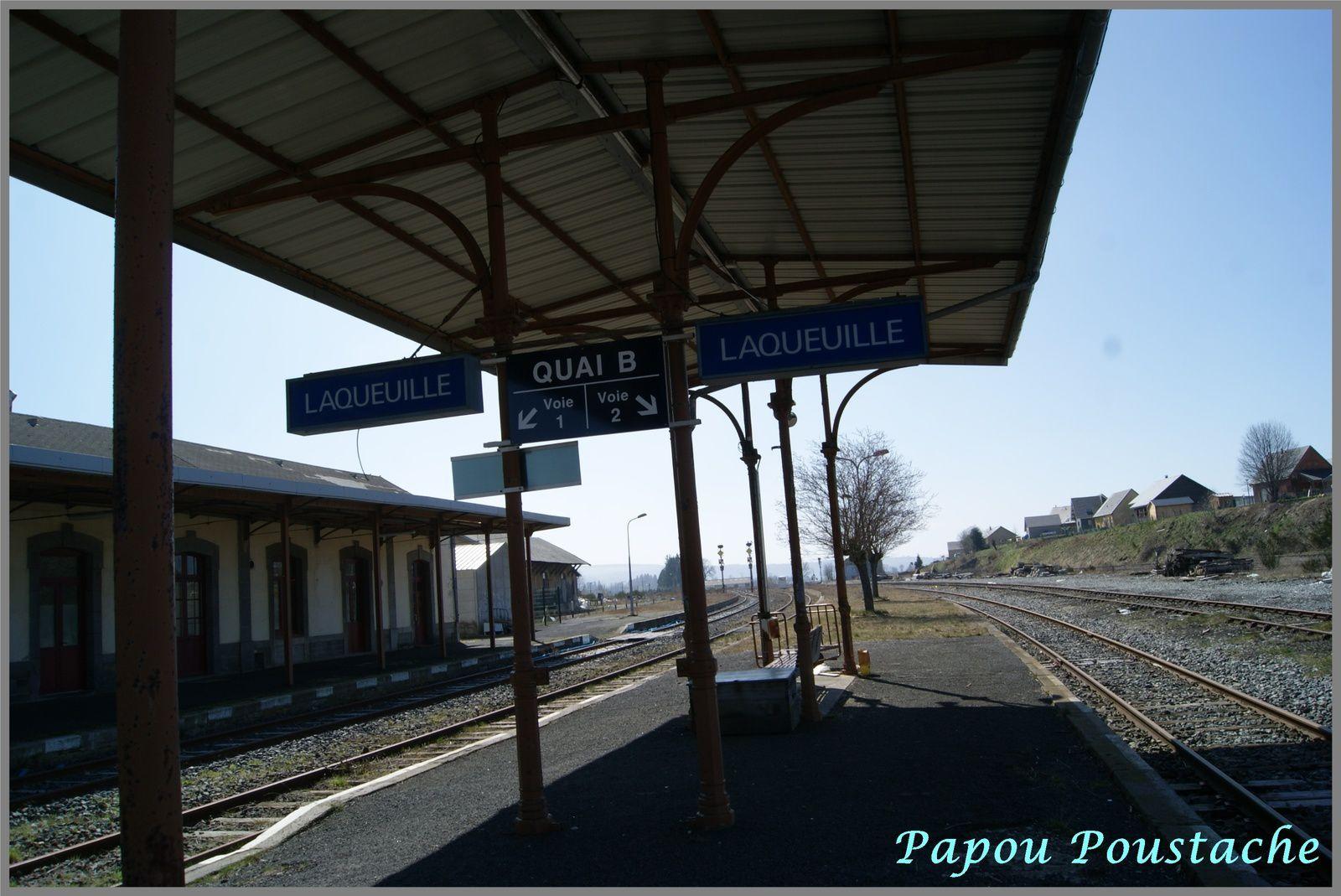 La gare de Bourg Lastic Messeix