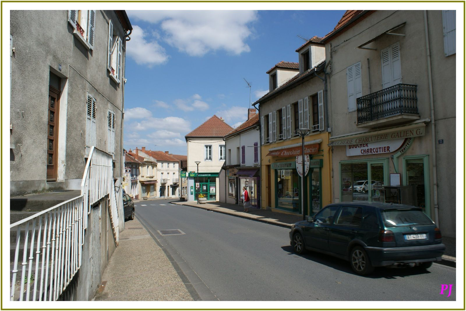 Les villages de l'Allier: St germain des Fossés