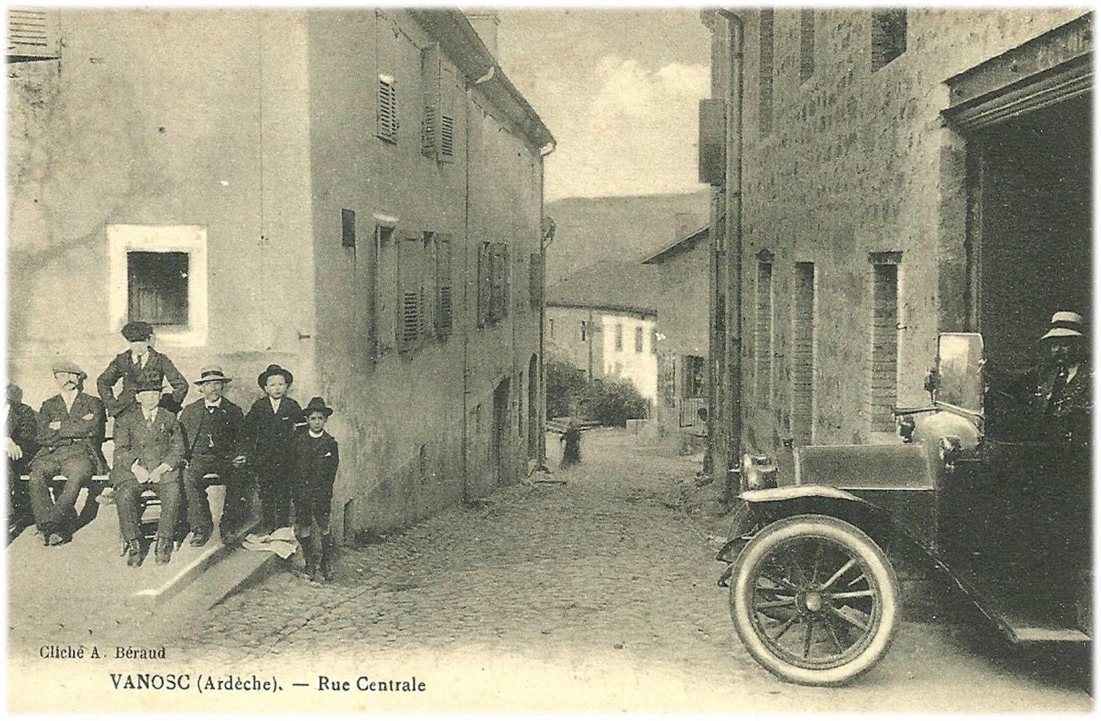 Au porte de L'Auvergne: Vanosc
