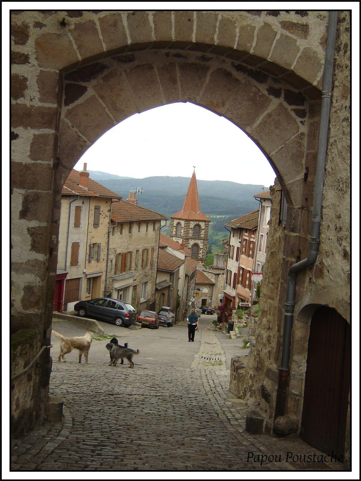 Les villages de Haute-Loire:Allègre 43270