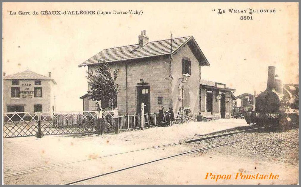 La gare de ceaux d'Allègre