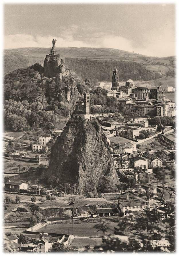 Le Puy en Velay des années 60 en 60 photos