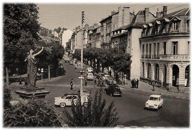 Aurillac aux années 60 en 60 images