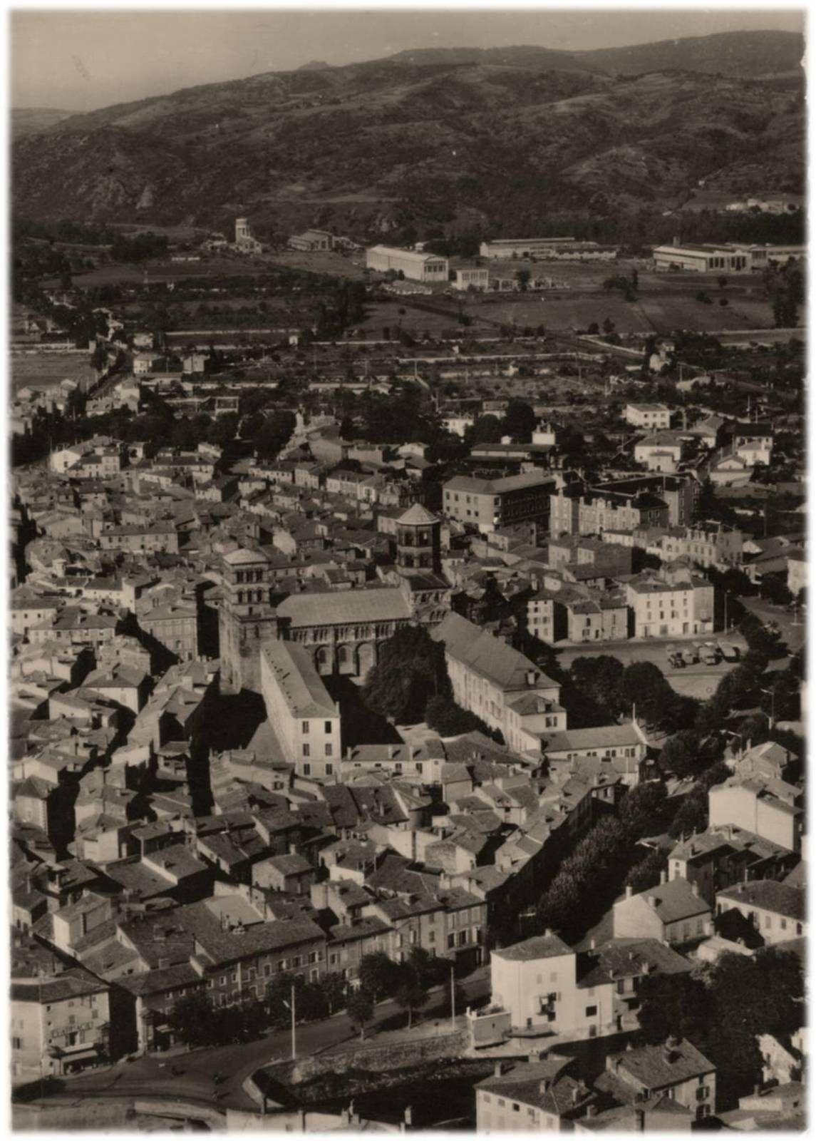 Issoire aux années 1950-60