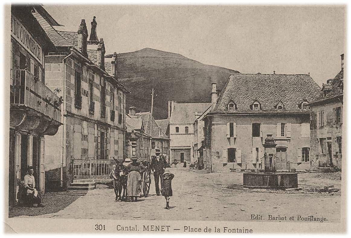 Il était une fois Menet dans le Cantal