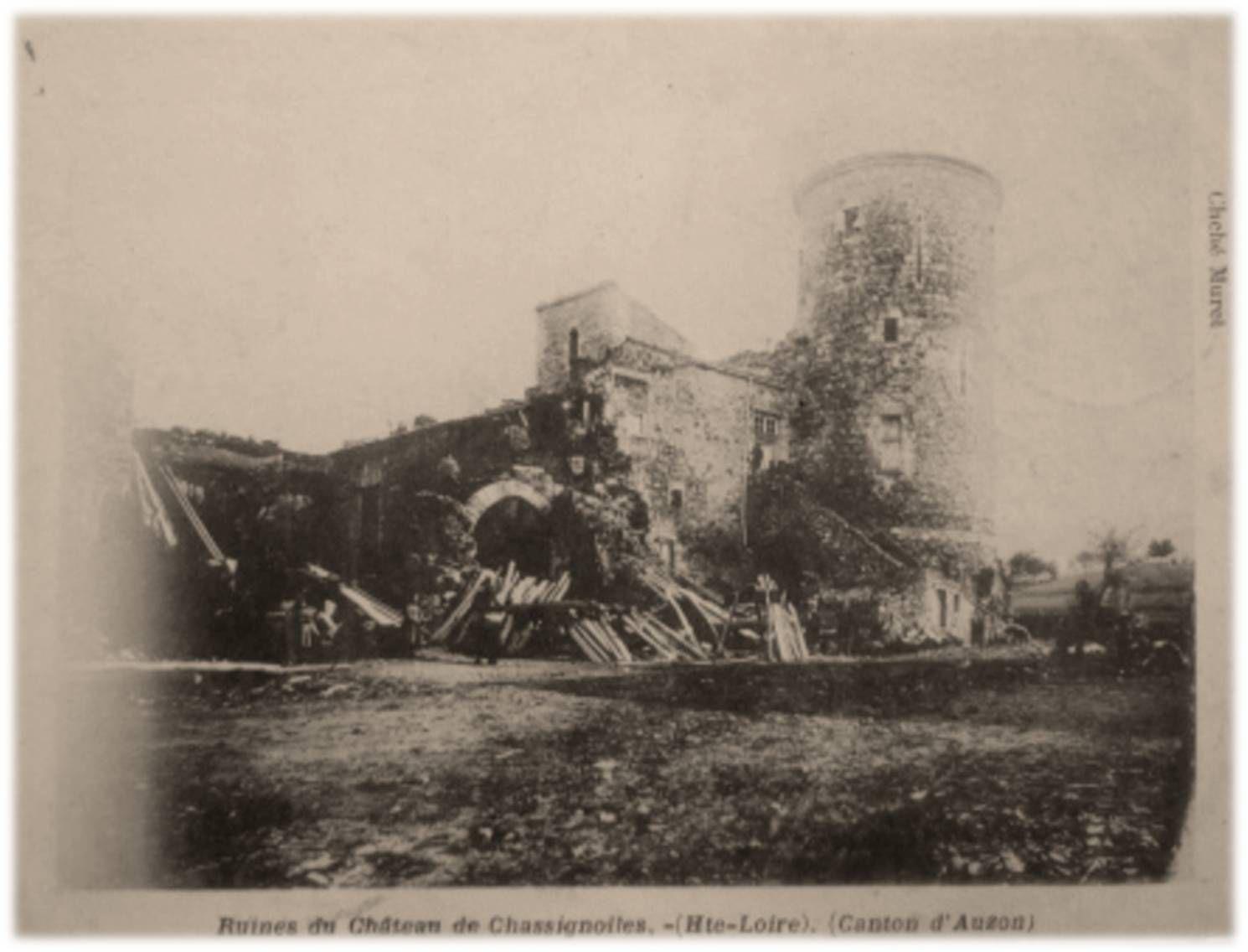 Le chateau de Chassignolles
