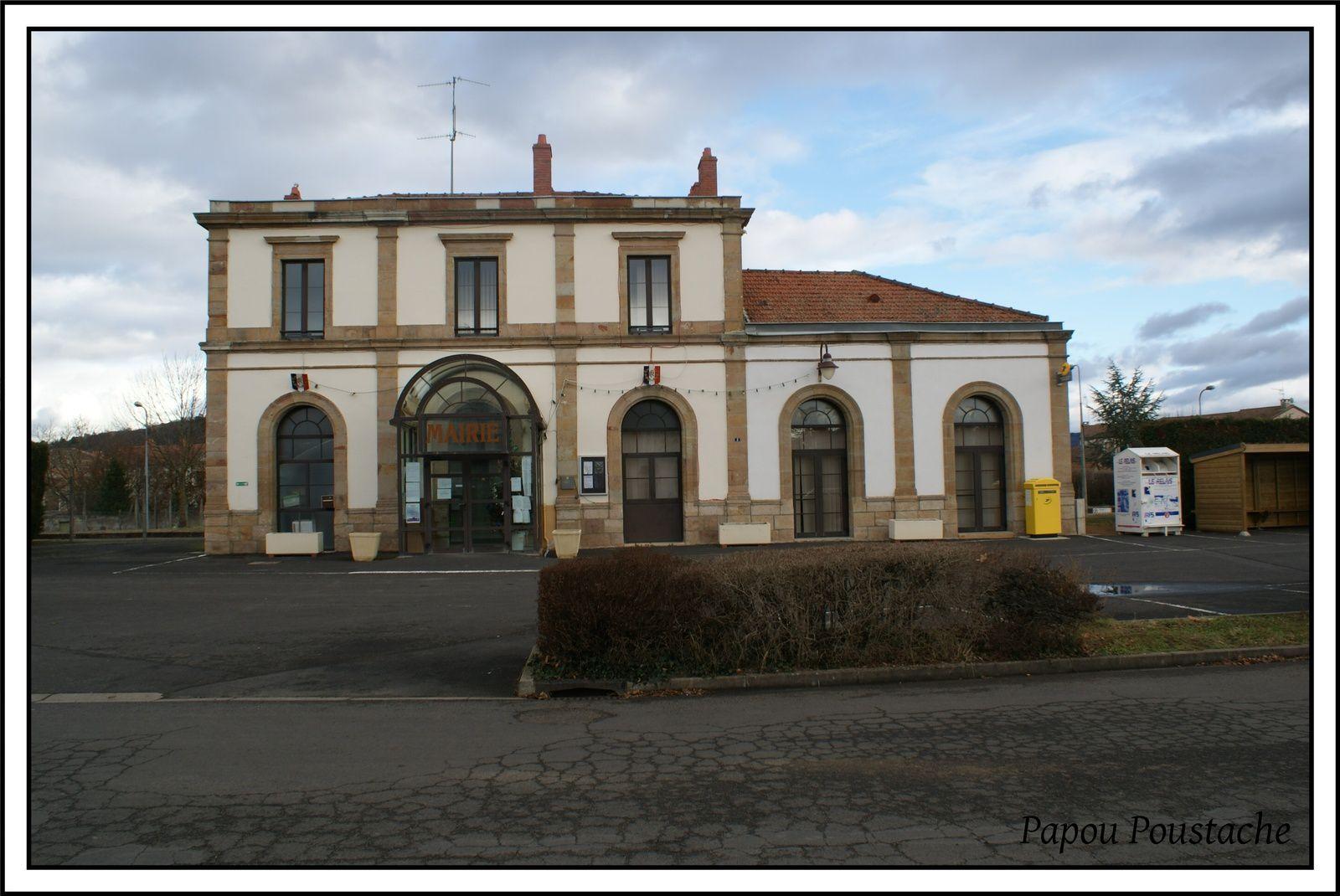 La gare du Breuil