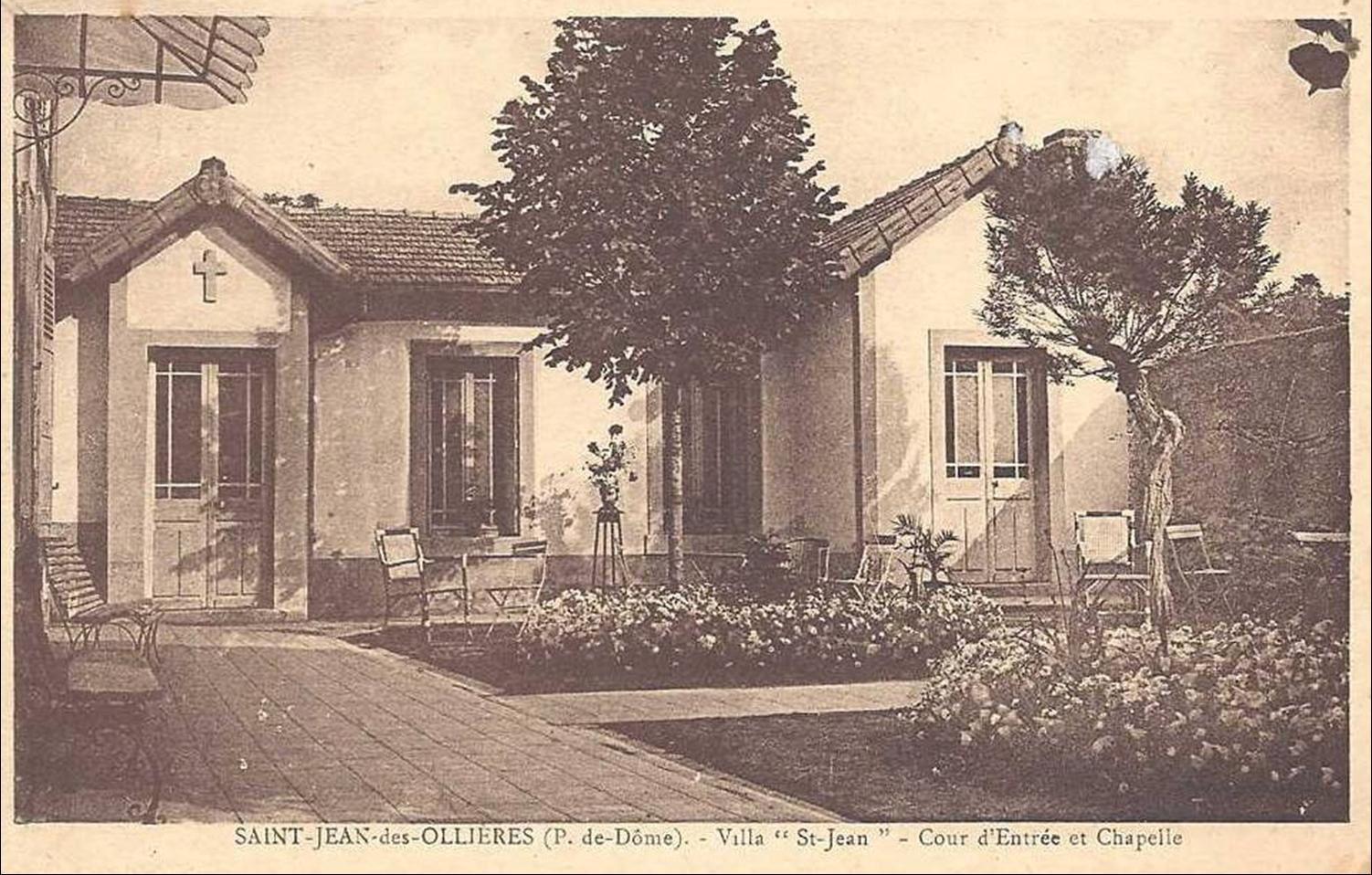 Les villages du Puy de Dome:St jean des ollières
