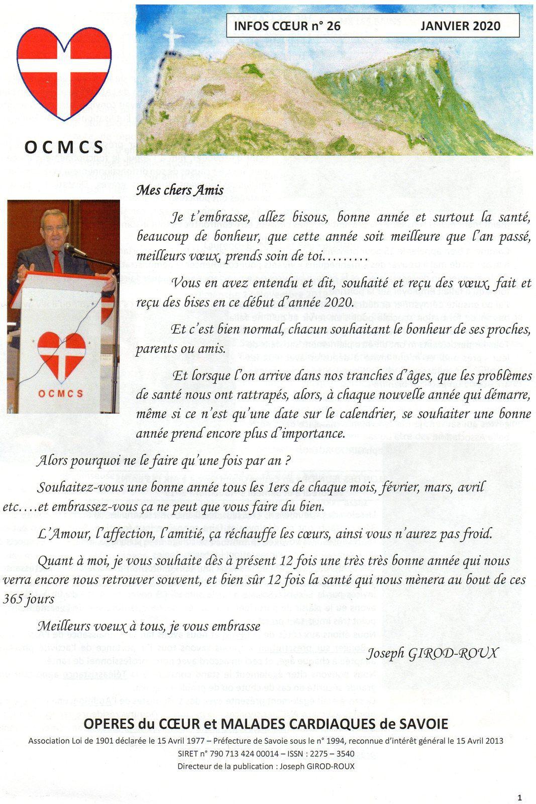 INFOS COEUR N° 26
