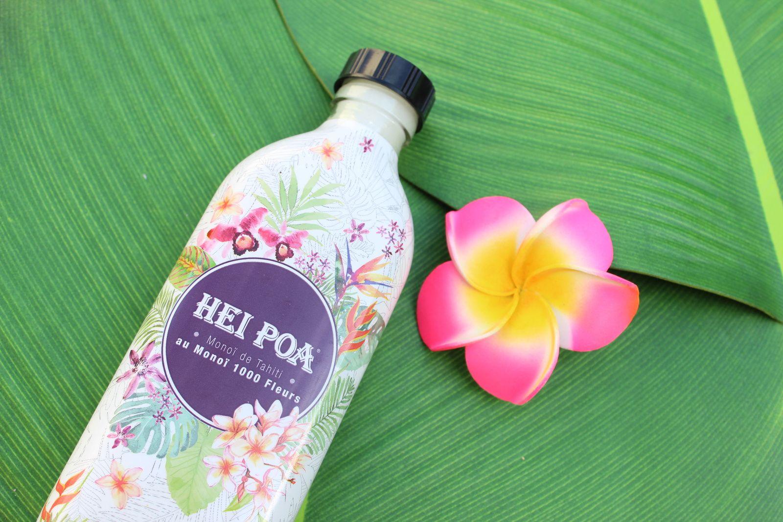 Monoï de Tahiti aux 100 fleurs Hei Poa