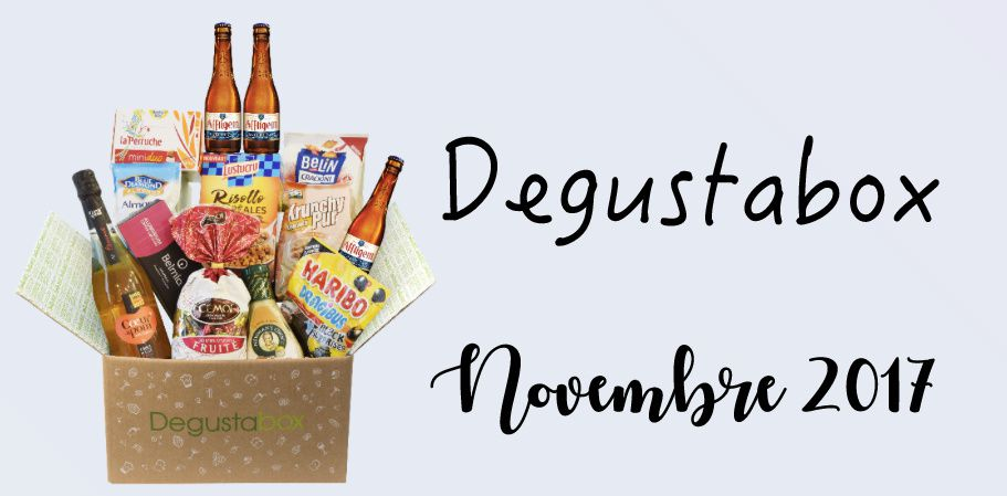 What's in the Degustabox : novembre 2017