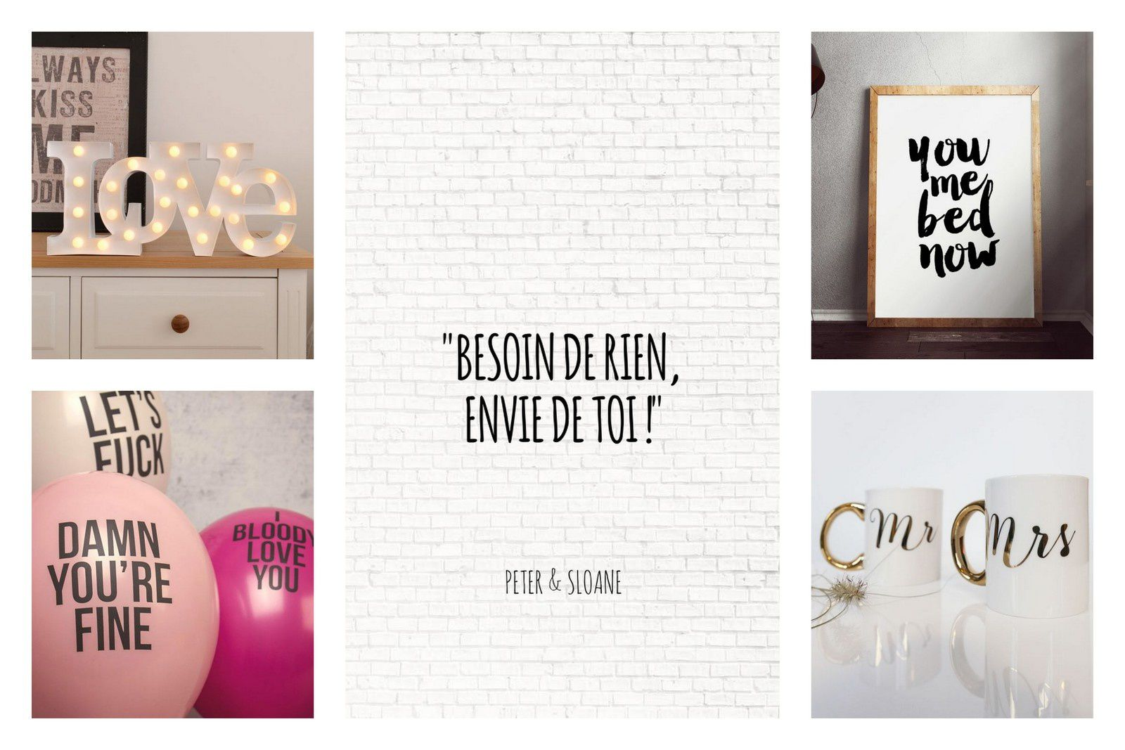 All we need is love ! Les cadeaux de St Valentin ❤