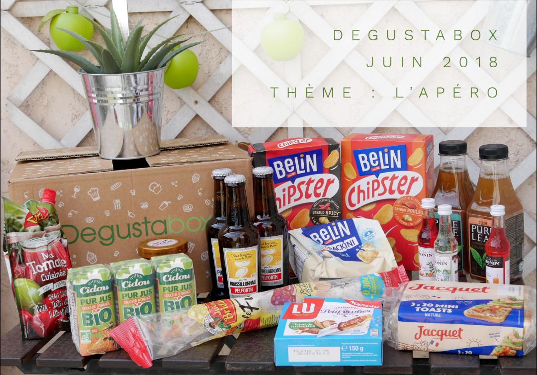 Degustabox juin 2018 : l'apéro