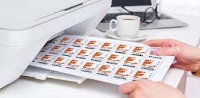 Etiquettes pour imprimer ses timbres en ligne