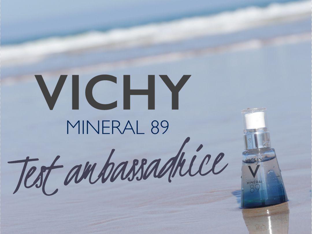 Le test beauté : Minéral 89 de Vichy