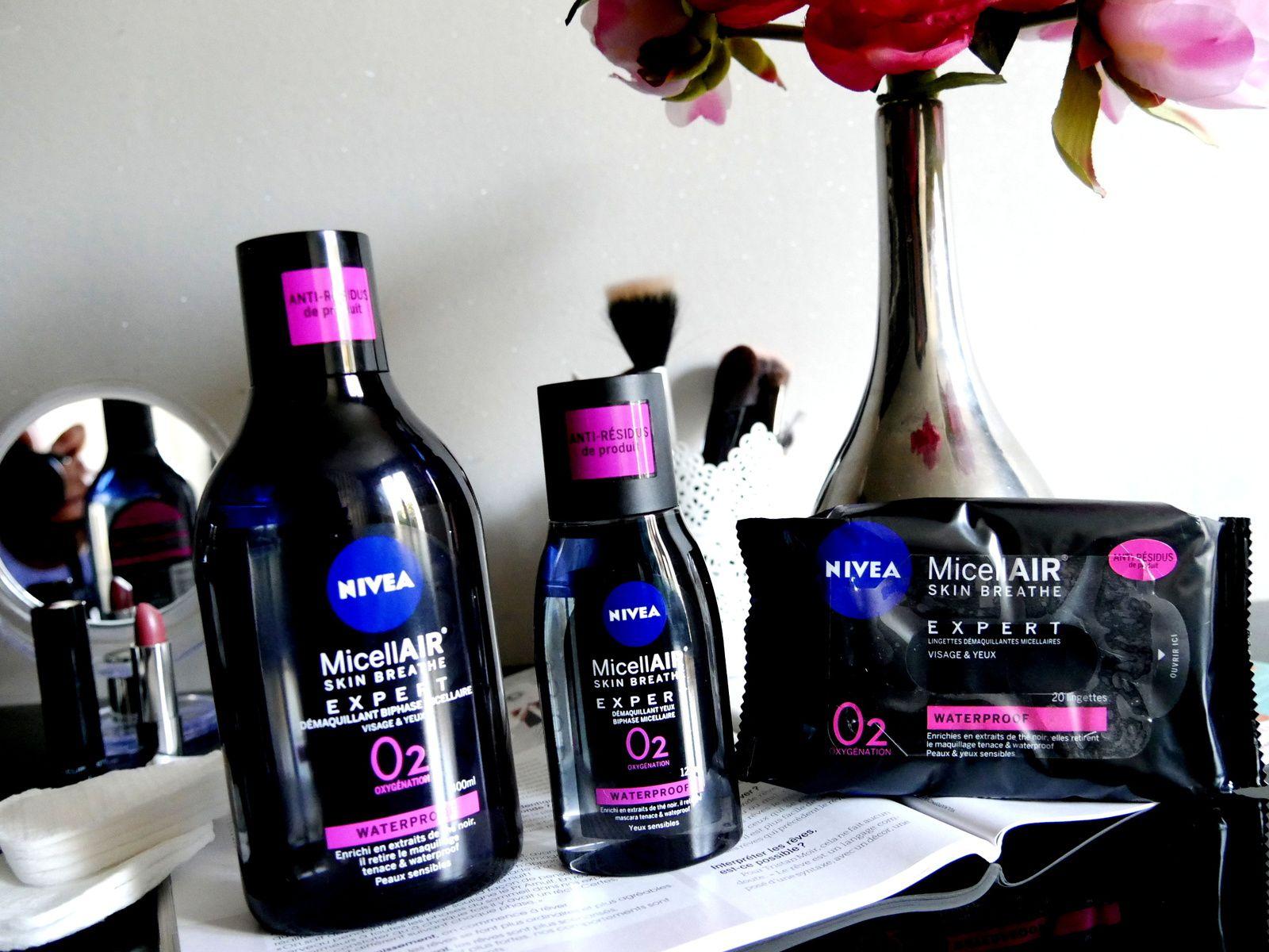 Micellair Black expert de Nivea : RIP le maquillage