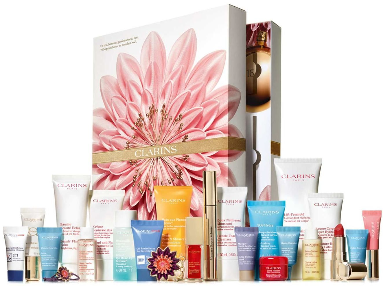 Calendrier Clarins 24 cases