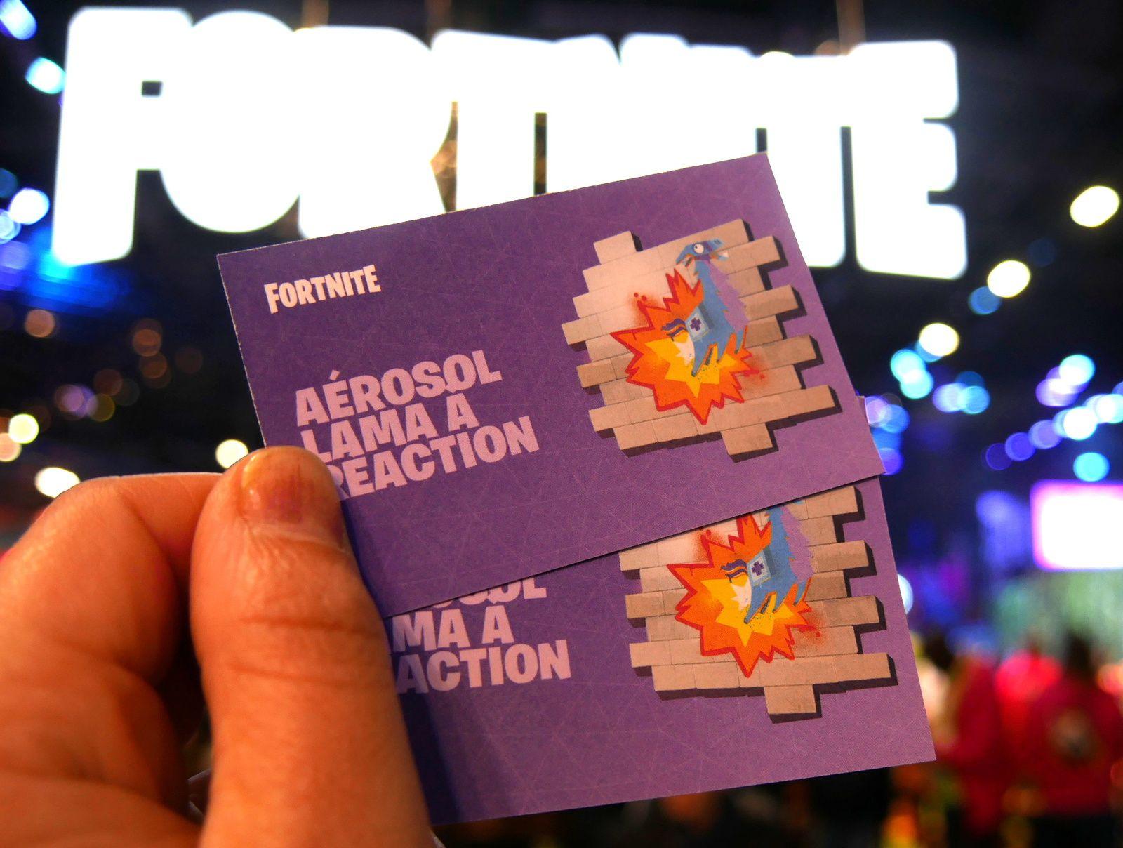 Fortnite à la Paris Games Week