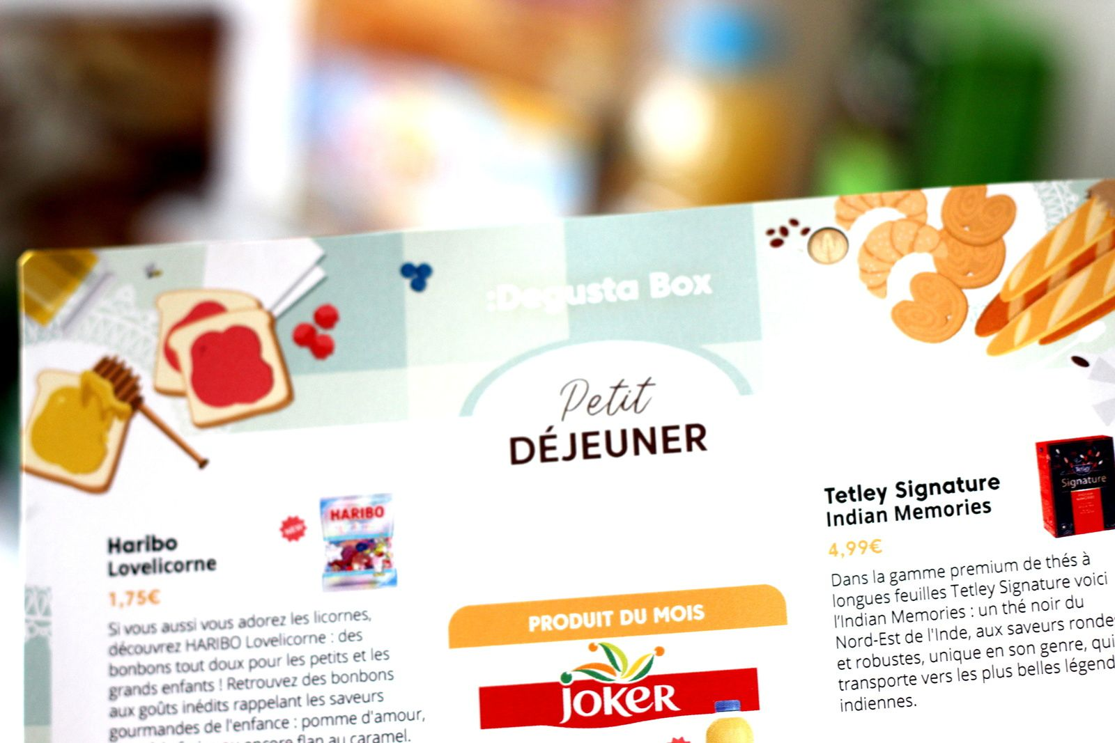 What's in the Degustabox : février 2019