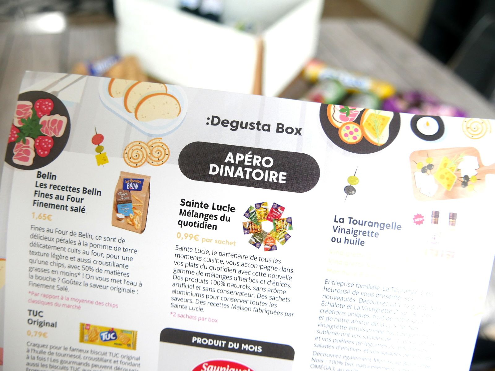 What's in the Degusta Box : avril 2019
