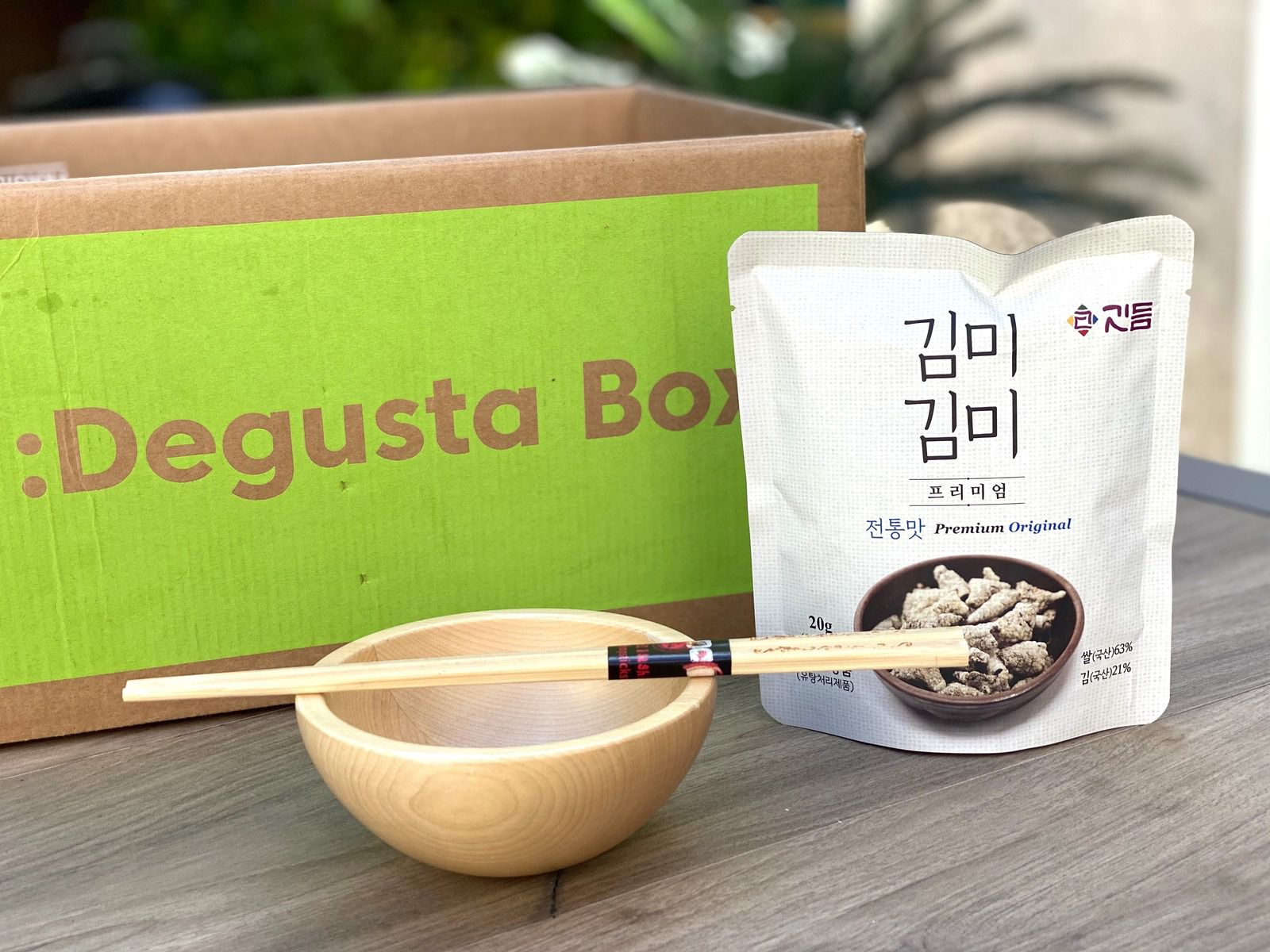 What's in the :Degusta Box : juin 2020 - Apéro