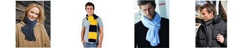 Bufandas polares y pañuelos para el cuello
