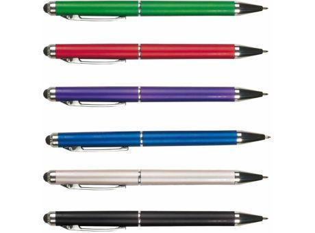 Bolígrafos con puntero para pantallas tactiles