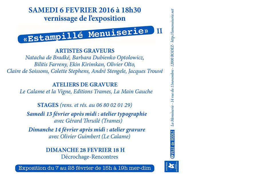 Exposition à La Menuiserie - Rodez - Olto 2016