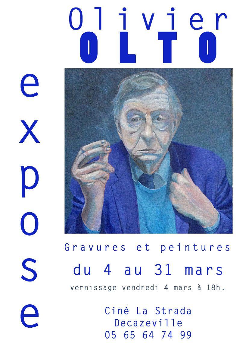 Exposition à La Strada - Decazeville - Mars 2016