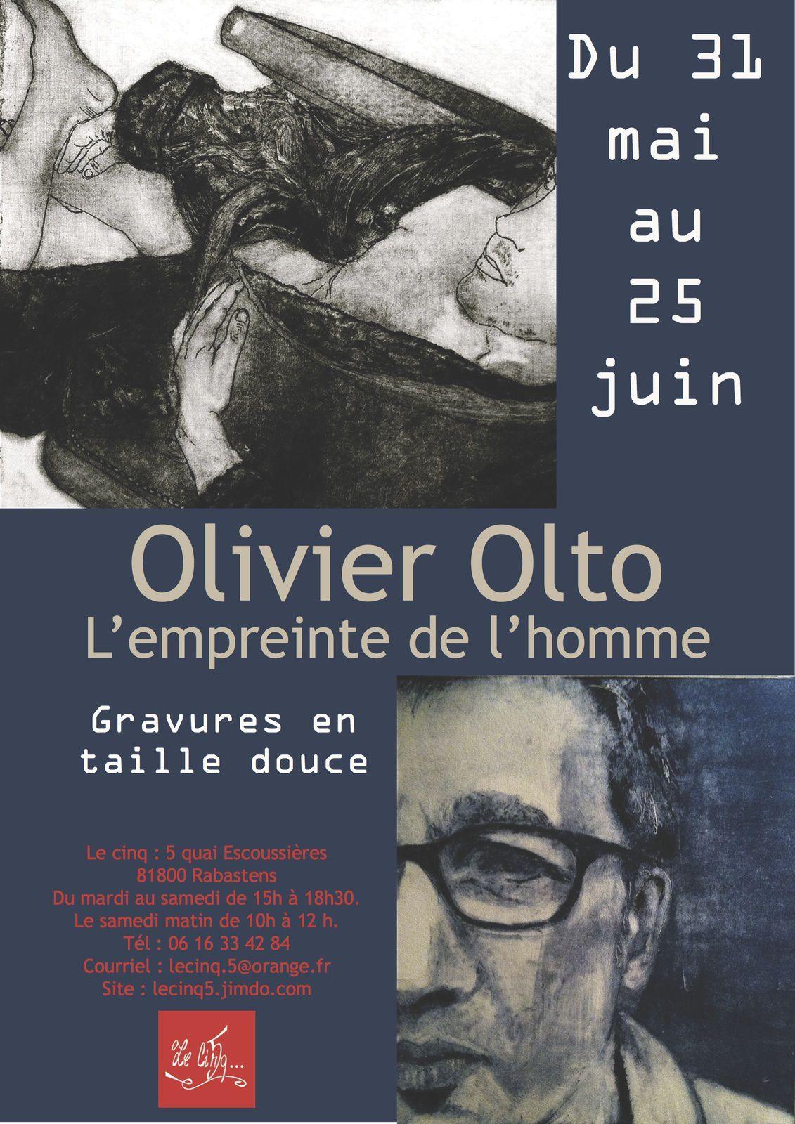 Exposition Olto - Galerie Le Cinq - Rabastens
