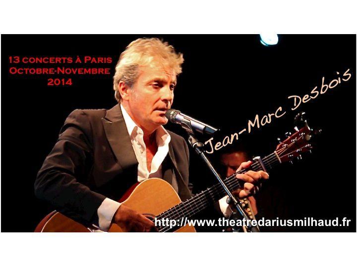 """Merci """"Monsieur Jean-Marc Desbois"""" pour ces grands moments d'émotions transmis lors de votre concert à Paris"""