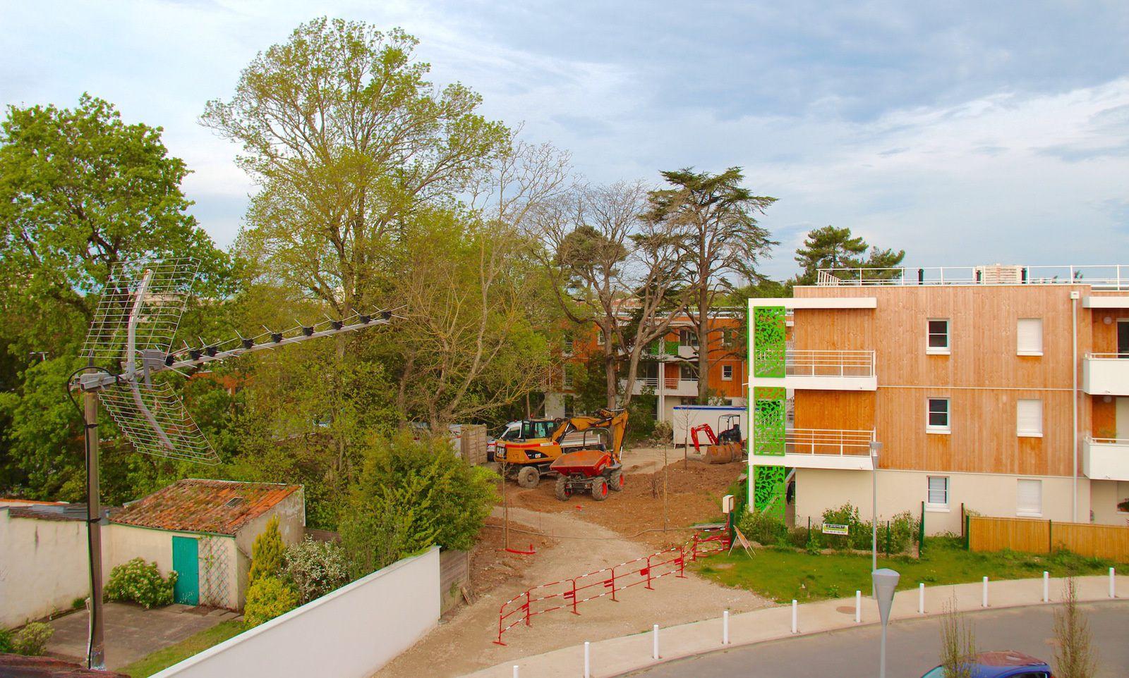 L'aménagement des espaces verts annonce la fin d'un chantier qui aura duré trois ans.