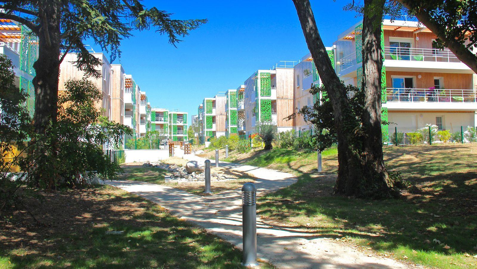 Bienvenue aux nouveaux résidents qui vont occuper les bâtiments A1 et A2 à partir de septembre 2016. Photos DGI/AG ©
