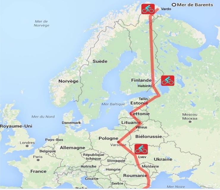 4000 kilomètres le long des frontières de l'Union