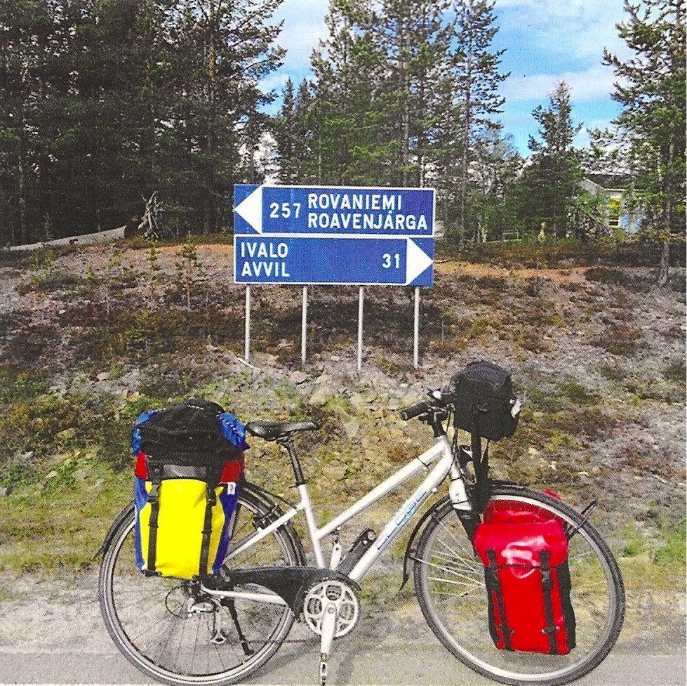 A 67 ans, seule, et en quatre mois, Françoise Dion a parcouru plus de 4000 kilomètres à vélo
