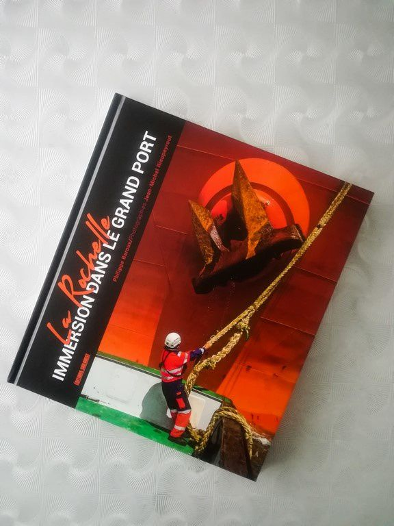 Le Grand Port maritime de La Rochelle, un livre d'images (activités et métiers du port)