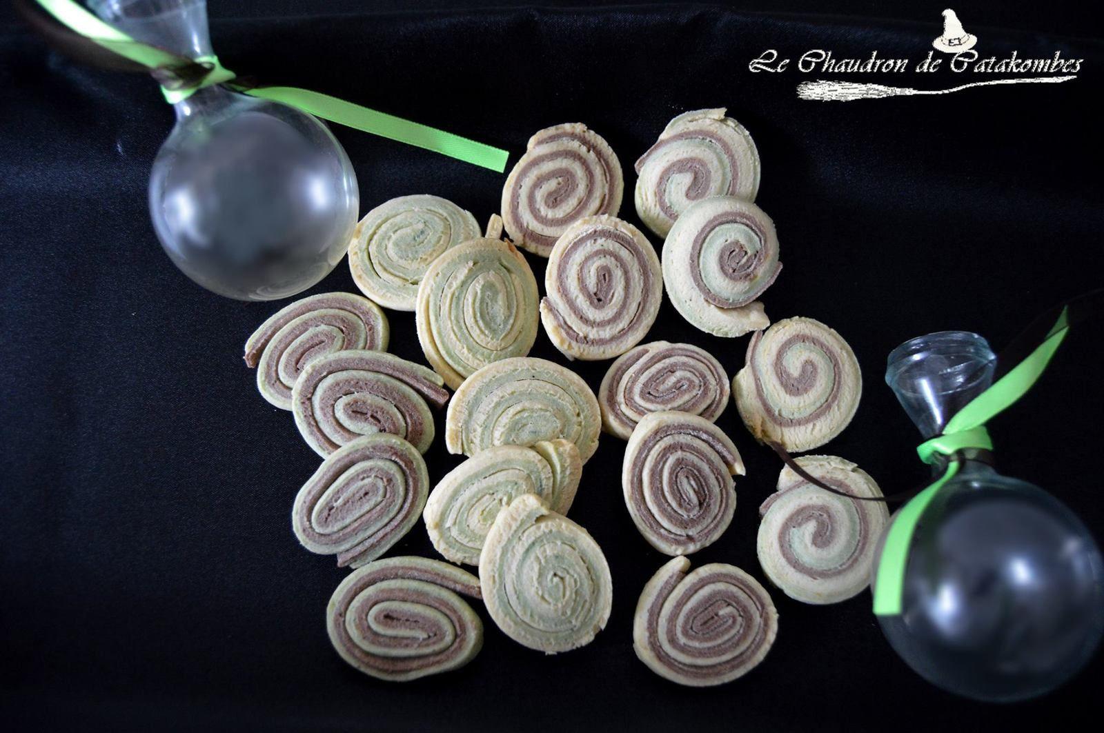 Une variante au bon goût de pistache pour ces classiques petits sablés.