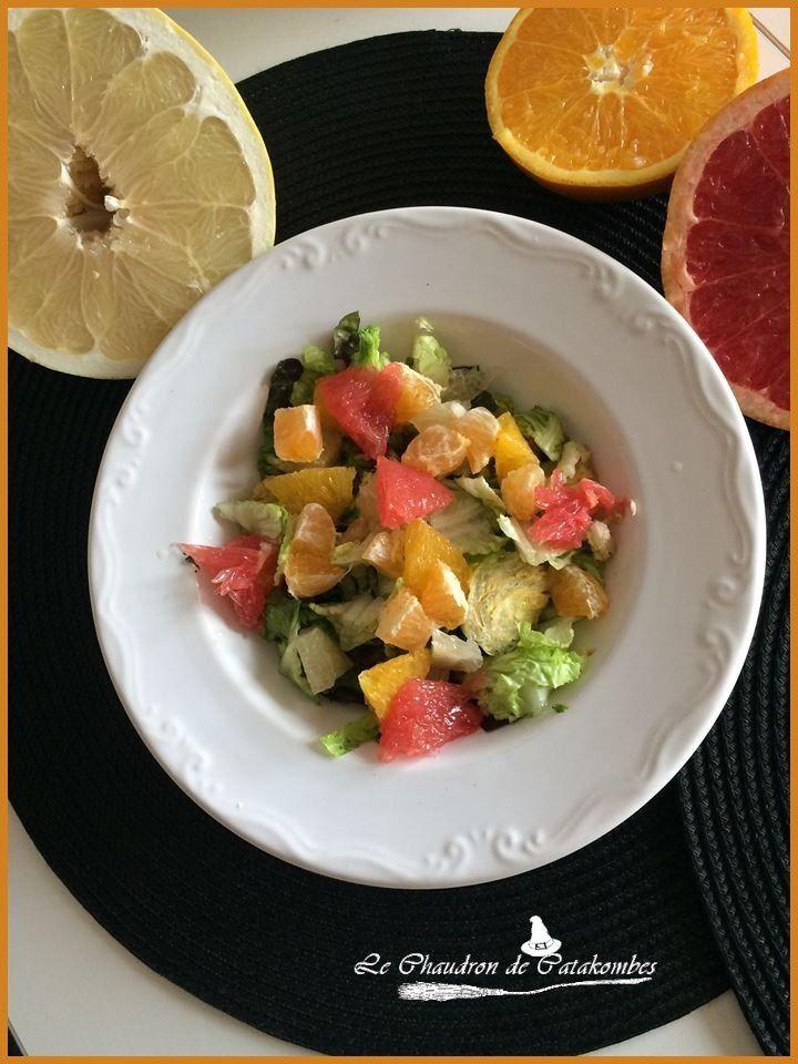 Une salade pleine de vitamines pour contrer l'hiver.