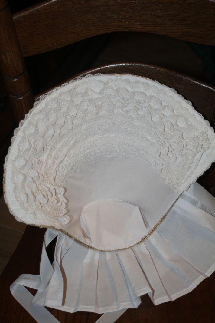 Bonnet d'été second empire - Civil war summer bonnet