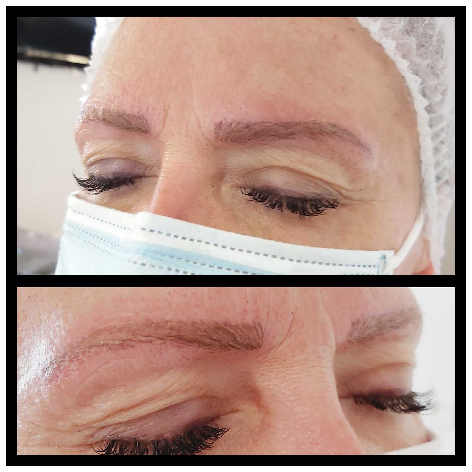Microblading/blonde