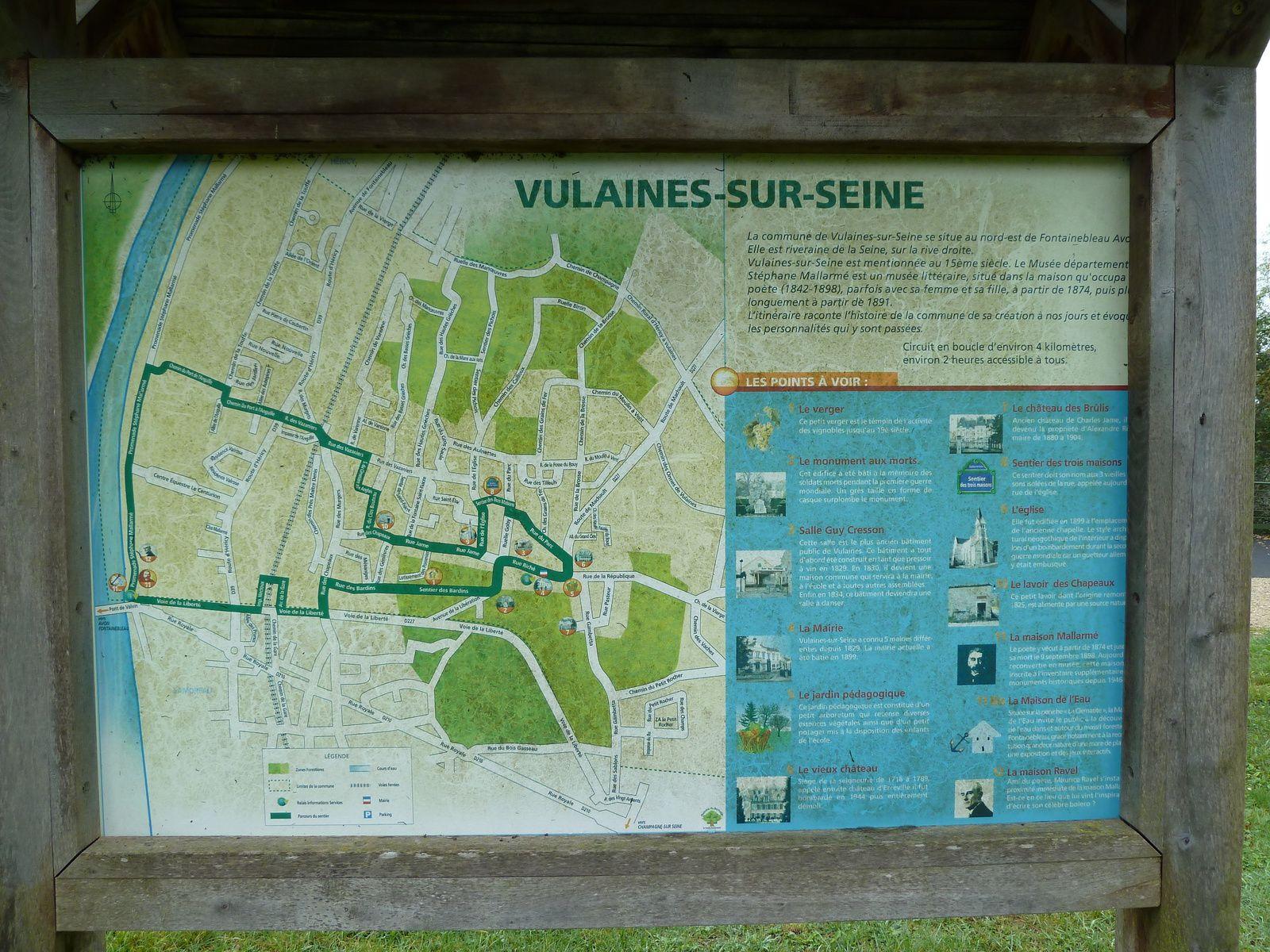 Randonnée en boucle d'Héricy - 22 km.