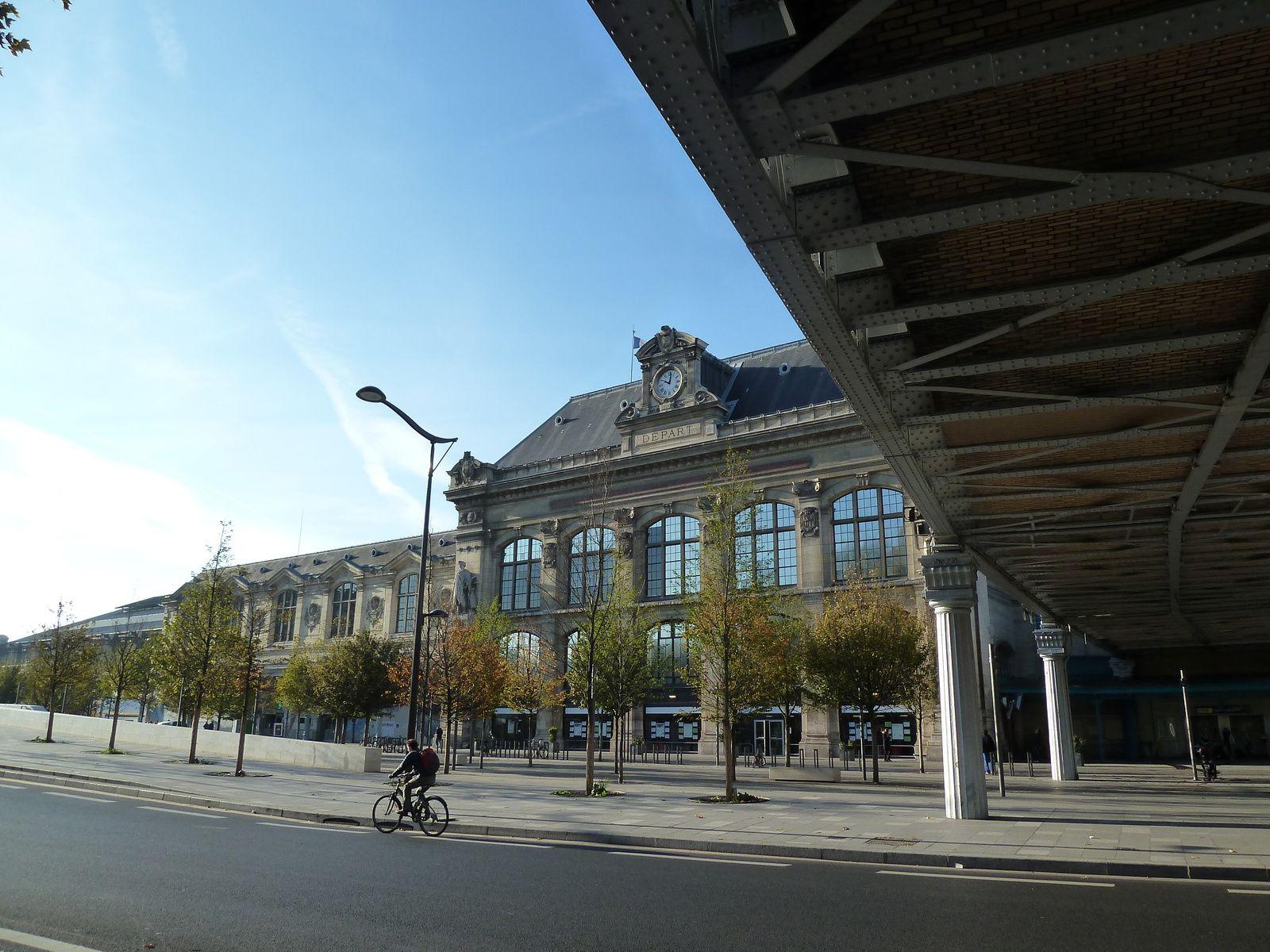La gare d'Austerlitz en pleine restructuration.