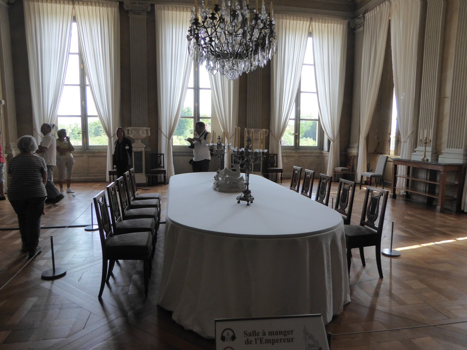 La salle à manger de l'Empereur.