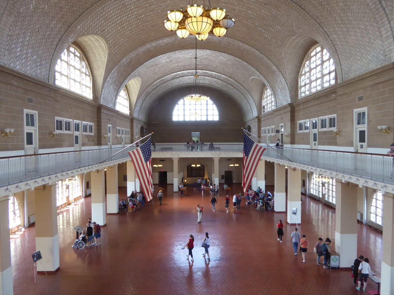 New York City, Ellis Island, Musée de l'Immigration - Mai 2017.