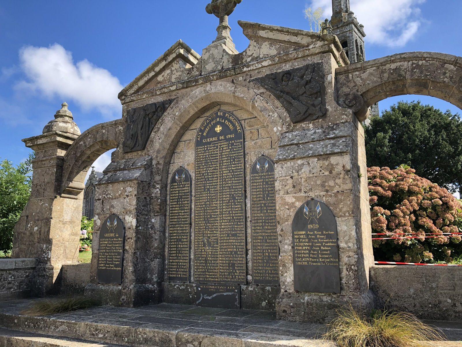 Eglise Saint-Thurien, Plogonnec - Bretagne 2018.