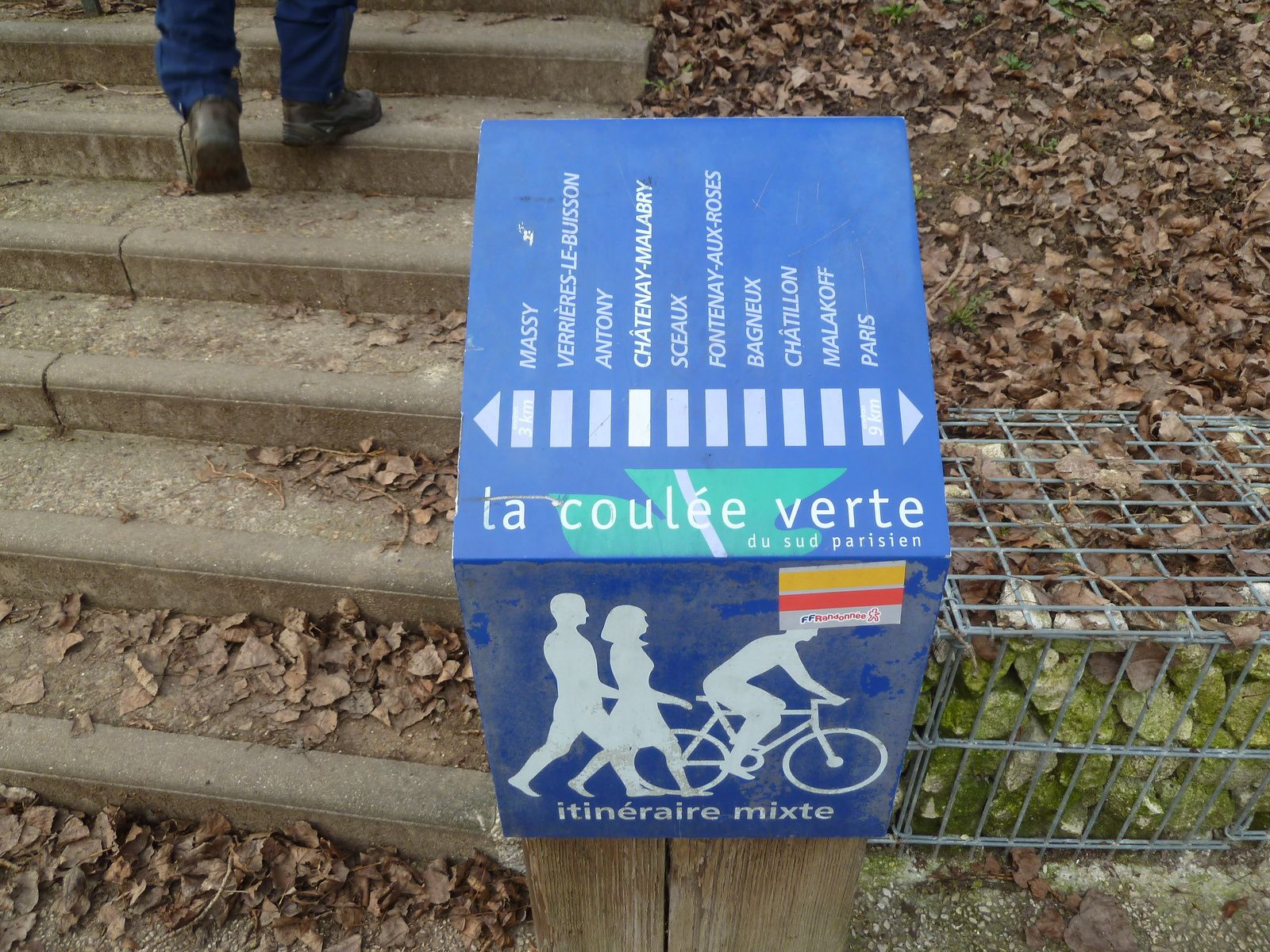 Randonnée du Parc de Sceaux à Châtillon - 9,7 km.
