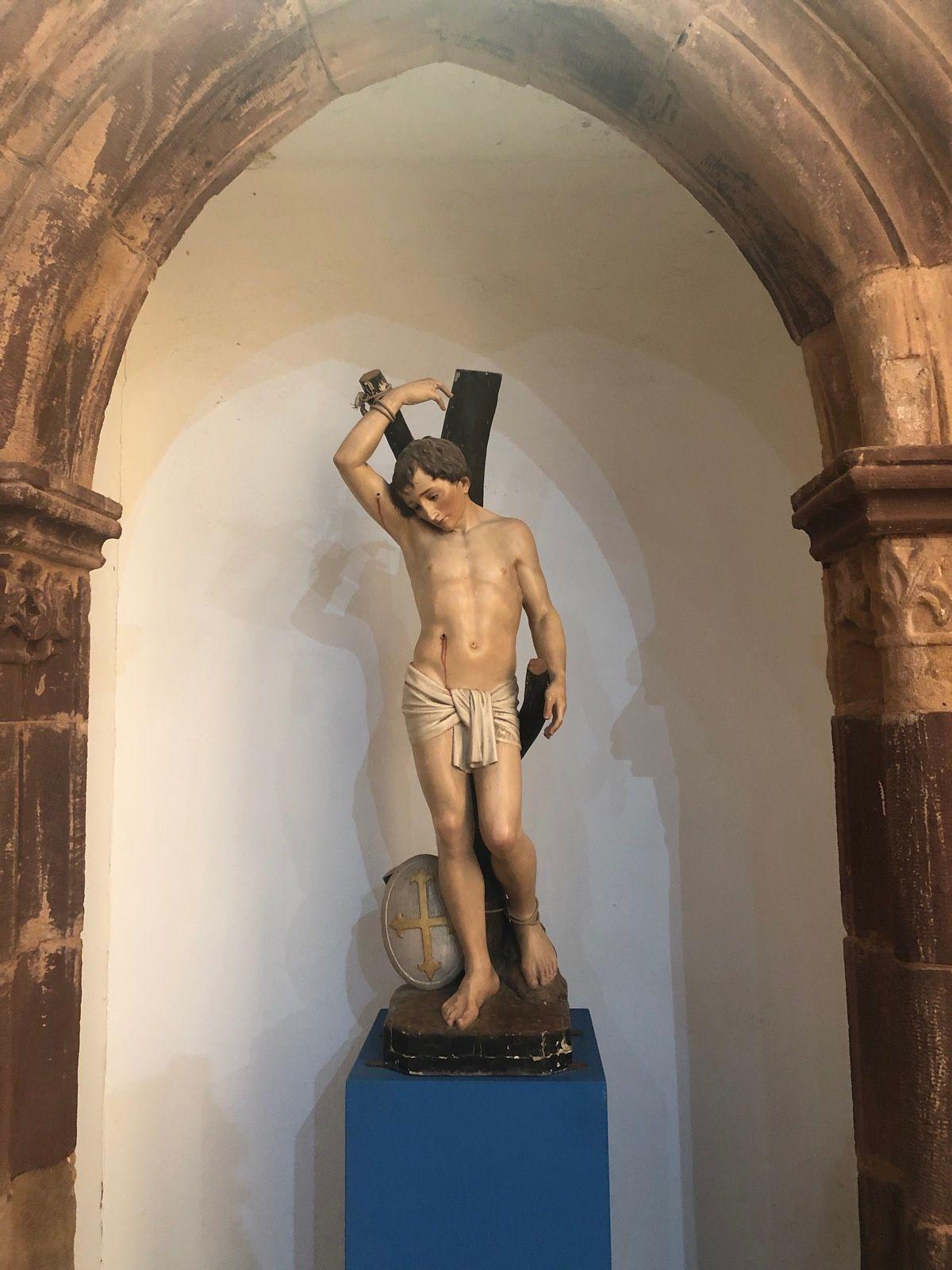La cathédrale de Silves en Algarve.
