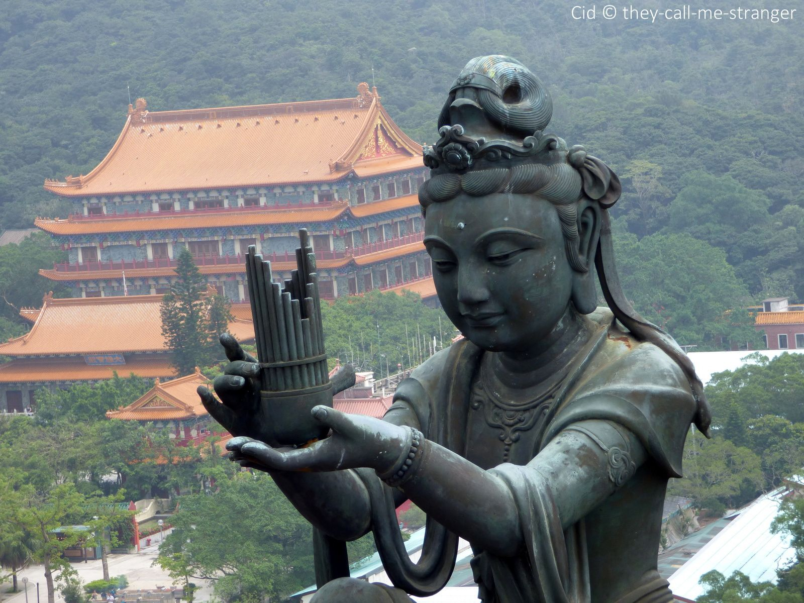 Le Monastère Po Lin et son Grand Bouddha, Lantau Island